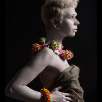 Suzanne Golden - Beaded Necklace and Bracelet