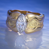 Tracy Johnson-R1194-Marquis-Ring-Blue-Water